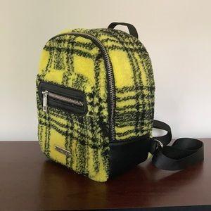 Plaid Mini Backpack